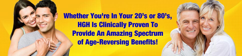 HGH provides amazing age reversing benefits